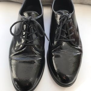 Oxford Patent Shoes